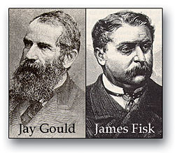 Resultado de imagen para Jay Gould y James Fisk